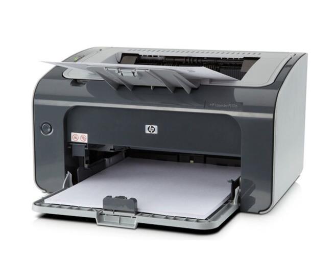 惠普P1106黑白激光打印机 A4打印 USB打印/