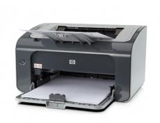 惠普P1106黑白激光打印机 A4打印 USB打印